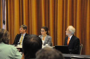 Cadmus' Erin Sweet on the Net Metering and New Finance and Policy Approaches panel at ASES' Solar 2013